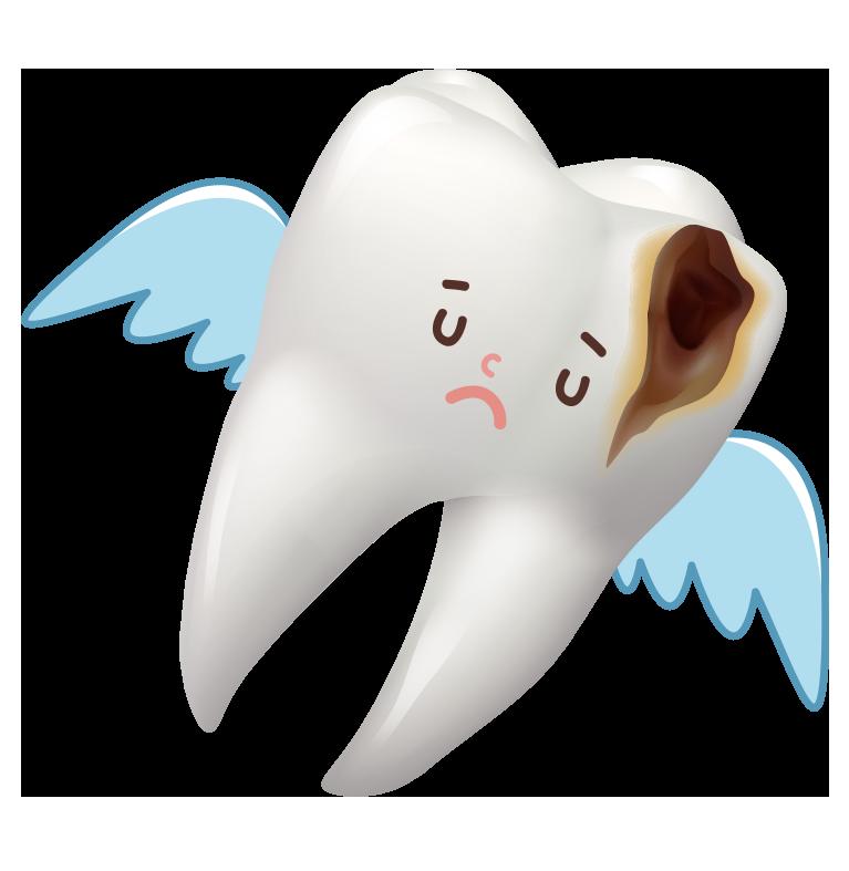 天に召される歯